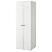 ГОДИХУС Шкаф платяной, белый, 60x51x178 см