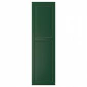 БУДБИН Дверь, темно-зеленый, 40x140 см