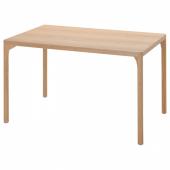 РОВАРОР Стол обеденный, дубовый шпон, 130x78 см