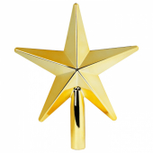 ВИНТЕР 2020 Наконечник-звезда, золотой, 24 см