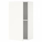 КНОКСХУЛЬТ Навесной шкаф с дверцей, белый, 40x75 см