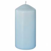 ДАГЛИГЕН Неароматич свеча формовая, голубой, 14 см