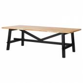 СКОГСТА Стол обеденный, акация, 235x100 см
