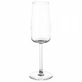 ДЮГРИП Бокал для шампанского, прозрачное стекло, 25 сл