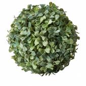 ФЕЙКА Растение искусственное, д/дома/улицы, самшит в форме шара, 18 см