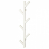 ЧУСИГ Вешалка, белый, 78 см