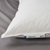 ЛУНДТРАВ Подушка, высокая, 50x70 см