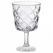 ФЛИМРА Бокал, прозрачное стекло, с рисунком, 23 сл