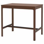 ЭКЕДАЛЕН Барный стол, коричневый, 120x80 см