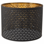НИМО Абажур, черный, желтая медь, 44 см