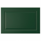 БУДБИН Дверь, темно-зеленый, 60x40 см