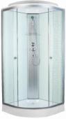 Душевая кабина, Aquapulse, 4122D square white 90*90*220