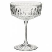СЭЛЛЬСКАПЛИГ Бокал для шампанского, прозрачное стекло, с рисунком, 21 сл