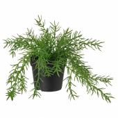 ФЕЙКА Искусственное растение в горшке, д/дома/улицы Омеловый кактус, 9 см