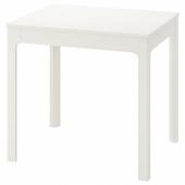 ЭКЕДАЛЕН Раздвижной стол, белый, 80/120x70 см