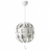 ИКЕА ПС 2014 Подвесной светильник, белый, серебристый