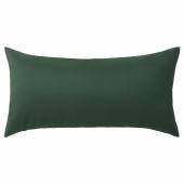 КРОНЭРТ Подушка, темно-зеленый, 30x58 см
