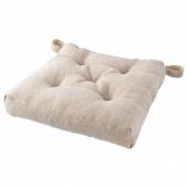 ЭТЛА Подушка на стул, неокрашенный, 40/35x38x7 см