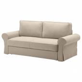 БАККАБРУ 3-местный диван-кровать, Идекулла бежевый