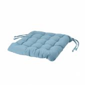 ВИППЭРТ Подушка на стул, бирюзовый, 38x38x6.5 см