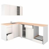 КНОКСХУЛЬТ Кухня, белый, 160x240x220 см