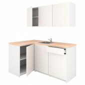 КНОКСХУЛЬТ Кухня, белый, 120x180x220 см