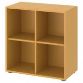 ЭКЕТ Комбинация шкафов с ножками, золотисто-коричневый, 70x35x72 см